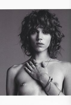 Freja in Purple Magazine (Purple Fashion)