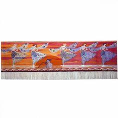 Frida Hansen / (Dance of the Dragonflies) 115 x Textile Tapestry, Tapestry Weaving, Textile Art, Tapestries, Loom, Art Nouveau, Artisan, Museum, Textiles