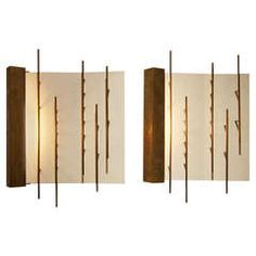 Pair of Wall Lights by Gio Ponti