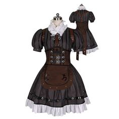Alice Madness Returns Alice Steamdress with Stocking Cosplay Costume Made Customized Any Size by Cosplaydaddy, http://www.amazon.com/dp/B00B2H9DNK/ref=cm_sw_r_pi_dp_-tHQrb102C3K3