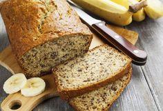 édients:  2-3 bananes bien mûres 1/3 de tasse (85ml) de beurre fondu 1 tasse (250ml) de sucre 1 œuf battu 1 cuillère à thé d'extrait de vanille 1 cuillère à thé de bicarbonate desoude Une pincée de sel 1 tasse et demie (375ml) de farine tout usage Préparation:  Préchauffer le four à 350°F (175°C). Bien beurrer un moule à painde 4 x 8 (pouces) et tapissez d'un papier parchemin. Dans un bol, écraser les bananes avec une fourchette. Verser le beurre fondu. Ajouter le bicarbonate de…