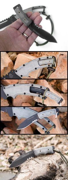 Tops Knives Mini Eagle XX EDC Fixed Utility Knife Blade
