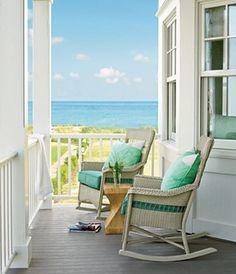 Beach porch-- love it