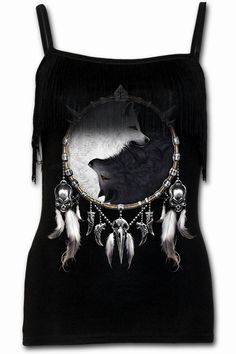 Spiral Direct Wolf Chi Camisole Vest Top