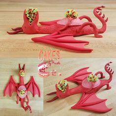A long time lapse video of the making of a Dragons Love Tacos cake topper. Made from Satin Ice fondant and rice cereal treats. Puppy Birthday Cakes, Boy Birthday, Birthday Parties, Dragon Birthday, Dragon Party, Dragons Love Tacos Party, Taco Cake, Castle Party, Satin Ice Fondant