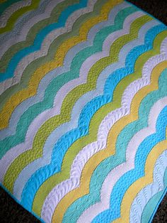 Wave Quilt - Sew Kind Of Wonderful