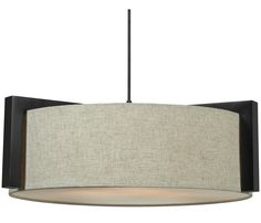 """Three Light Pendant - 22"""" round ceiling light with a madera bronze finish. * Bulb: (3) 60w max (not included)"""