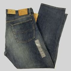a5dd9993 Details about Polo Ralph Lauren Mens Size 36 x 30 The Thompson Relaxed  Stretch Denim Jeans