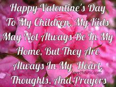 Happy Valentines Day To My Children