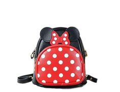 f54df0d839d Disney Discovery- Minnie Mouse Polka Dot Backpack