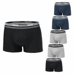 Confezione da 4 Multicolore Slip Boxer Design Italiano Ampio Davanti y Intimo Uomo Boxer Intimo con Cotone Premium
