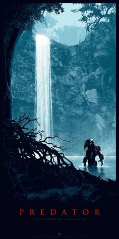 "Striking PREDATOR Tribute Art By Matt Ferguson — ""Thrill of The Hunt"""
