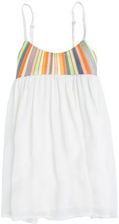 Mara Hoffman Toddler Embroidered Empire Dress