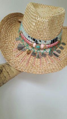 Ibiza style hats