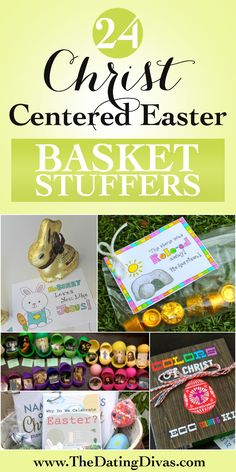 Fun Christ-Centered Easter gift ideas - perfect for Easter Basket fillers. www.TheDatingDivas.com