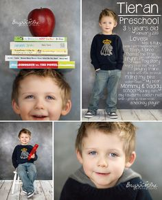 Preschool | Kamloops Child Photographer | Brynnstone Photography Our Kindergarten photo shoot photo idea