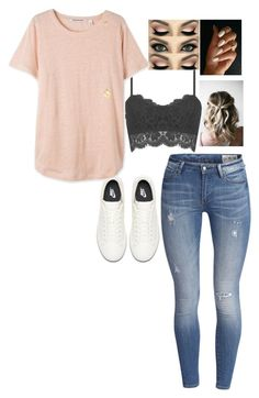 """""""Untitled #1400"""" by malfoys-princess ❤ liked on Polyvore featuring NIKE and Chupi"""