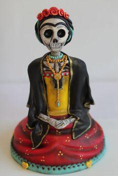 Memory of Frida Kahlo. by Man Bakes Cake