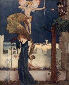 Art by Sir William Russell Flint .1913.