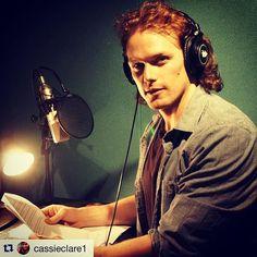 Sam Heughan | Join me at the Shadowhunter Academy soon....!!