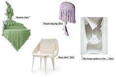 Isabel Berglund e suas esculturas têxteis
