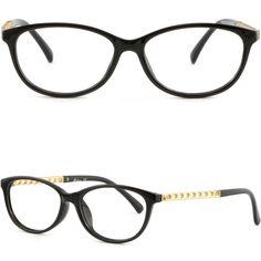 682648cae6f Light Women s Plastic Frames Glasses Photochromic RX Sunglasses Gold Shiny  Black  Unbranded Prescription Glasses Frames