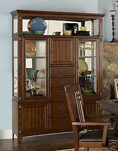 Formal Dining Room Furniture China Cabinet Hutch Buffet