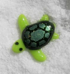 Fused glass sea turtle | Flickr - Photo Sharing!