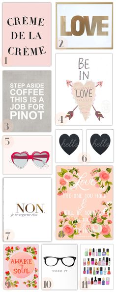 Prints Everywhere!! My favourite Prints and Print Shops on the blog! | thedoctorscloset.com