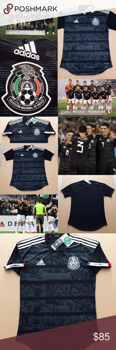 16a09389b7f 2019 MEXICO Gold Cup Soccer Jersey Black Futbol 2019 Mexico National Soccer  Team (FMF