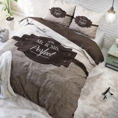 Sengetøj Mr & Mrs Perfect 240x200/220 cm
