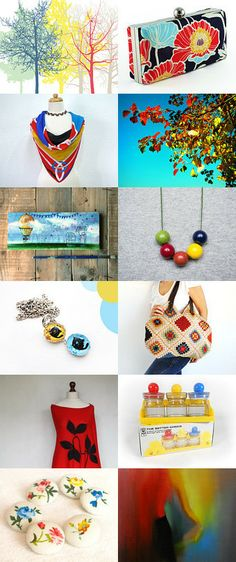 Colorful by Paola Brigneti on Etsy--Pinned with TreasuryPin.com