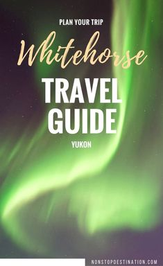 Whitehorse is the capital of the Yukon, a province in Canada's North West. The Yukon is known for its unspoilt nature and the Klondike Gold Rush and the way it… Pvt Canada, Visit Canada, Canada Eh, Travel Advice, Travel Guides, Travel Tips, Travel Plan, Usa Travel, Calgary