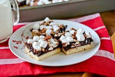 Rocky Road Bars by Full Fork Ahead