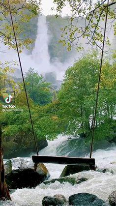 Beautiful Waterfalls, Beautiful Landscapes, Nature Gif, Nature Videos, Wow Video, Gifs, Video Photography, Amazing Nature, Vacation Spots