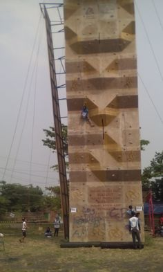 pekalongan wall climing