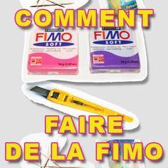Tout pour faire de la Fimo : Comment faire des Bijoux Fimo, créer sa pâte Fimo, constituer son Kit de démarrage, regarder des Tuto Fimo en vidéo pour créer.