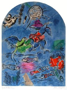Chagall The Tribe of Ruben