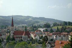 Sankt Gallen, Die Schweiz!    Where my Grandfather, Ferdinand Wetter, was from.