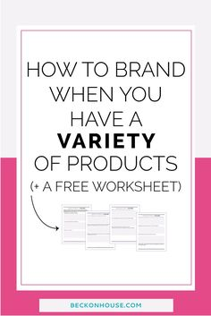 As a product based business, you might be confused about exactly how you should be branding your business. In this step-by-step post and worksheet, you'll learn exactly what to do to create a brand identity that fits your product based business perfectly! Great for bloggers, small business owners and entrepreneurs. Click to read or pin for later!