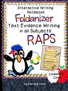 Interactive Writer's Notebook: RAPS Text Evidence Writing R-restate the topic sentence A-answer the question P-provide text evidence/detail P-provide text evidence/detail S-sum it up 6th Grade Ela, Third Grade Science, Third Grade Reading, Interactive Writing Notebook, Interactive Notebooks, Text Based Evidence, Core Learning, Fun Classroom Activities, Teaching Reading