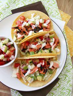 ... rubbed salmon tacos chipotle salmon taco 2 more food recipes taco