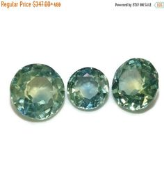 ON SALE Montana Sapphire, Natural Green Blue Sapphire, Loose Sapphire Stone, September Birthstone, Natural Sapphire Stones by BridalRings on Etsy https://www.etsy.com/listing/508497975/on-sale-montana-sapphire-natural-green