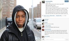 Proof of the good, really good, that the internet can do.  And that you should be following Humans of New York if you aren't already.