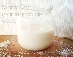 cómo hacer manteca o mantequilla de coco