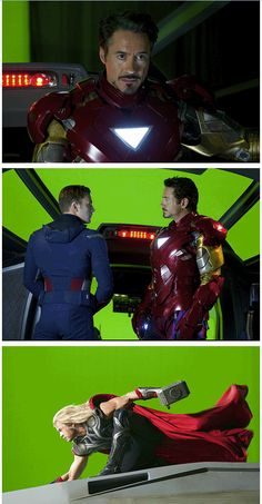The Avengers ..behind the scenes http://pinterest.com/yankeelisa/marvel-s-the-avengers/
