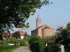 St. Martin Catholic Church, Waldsee, Palatinate, Germany.  #ToHellAndBack #MariaRosaAuthor #StMartin #Catholic #church #Waldsee #Palatinate #Germany #travel