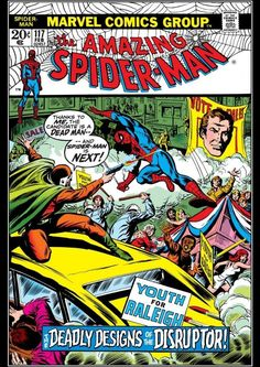 """The Amazing Spider-Man #117 """"The Deadly Designs Of The Disruptor"""" (February, 1973)"""