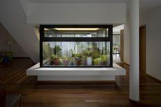 in-house greenhouse / impluvium