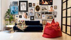 Colaboramos con Houzz España. Rafa Bermejo nos invita a un piso lleno de arte en Malasaña.